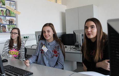 Schule erleben am Info-Tag 2018 Bild 10