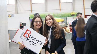 Übungsfirmenmesse Sinsheim - Work hard, play hard Bild 02