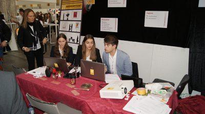 Übungsfirmenmesse Sinsheim - Work hard, play hard Bild 08