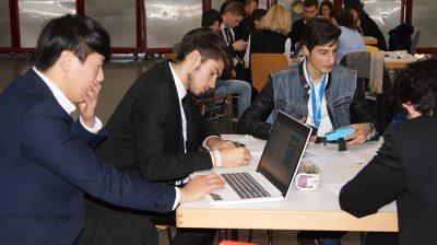 Übungsfirmenmesse Sinsheim - Work hard, play hard Bild 14