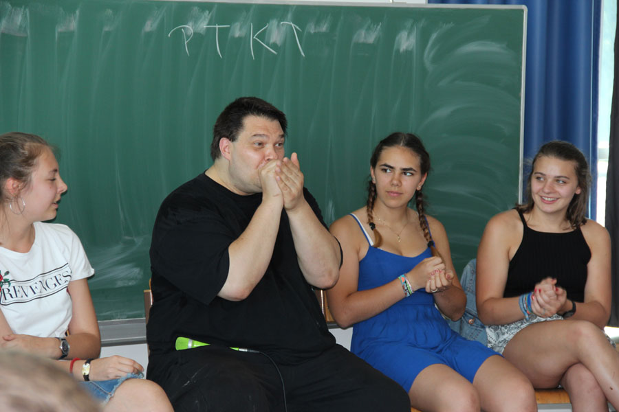 Hak Neusiedl fii-beatbox fii-Schulung