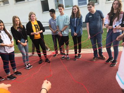 Kennenlernspiele Schülerinnen 1 FK