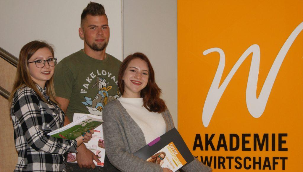 Schülerteam der Akademie der Wirtschaft Neusiedl am See