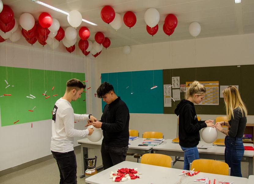 3DS Vorbereitung für das Luftballon steigen