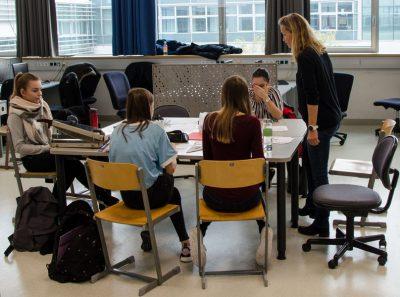Workshops in den einzelnen Klassen