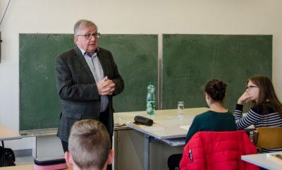 Hans Sipötz als Lehrer