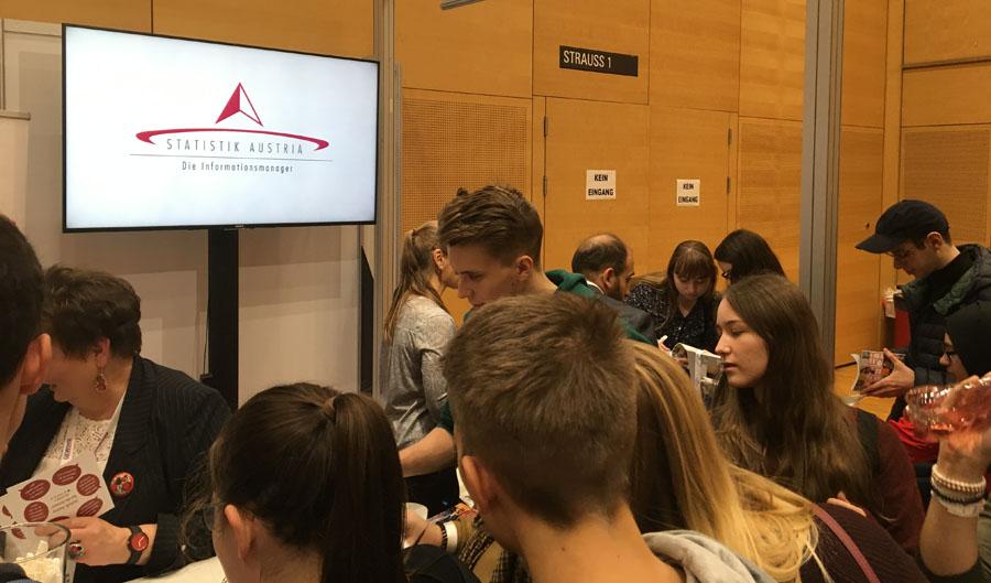 Gewinninfomesse Statistik Austria