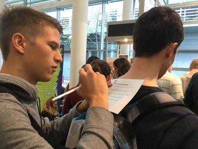 Gewinninfomesse 2 Schüler