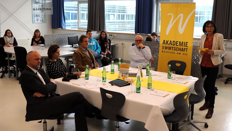 Pressekonferenz HAK Neusiedl