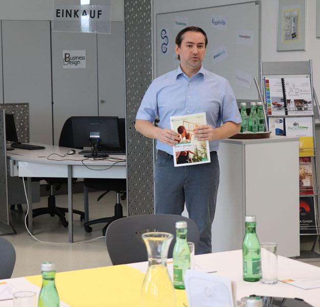 Pressekonferenz HAK Neusiedl Prof. Nitschinger
