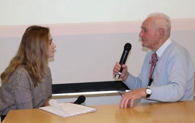 interview mit Zeitzeugen